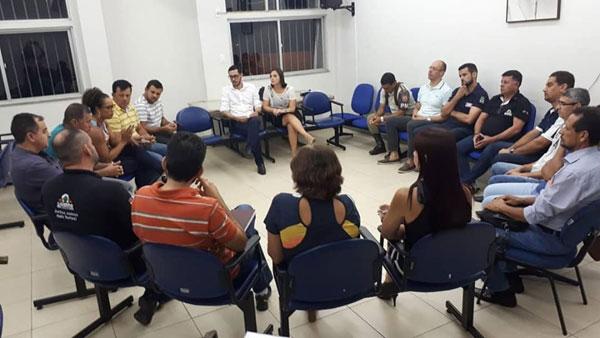 CEJUSC-Brumado aplicou prática de Justiça Restaurativa com o Conselho Comunitário de Segurança (CONSEG)