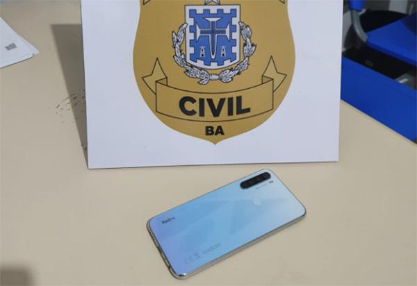 Brumado: Polícia Civil recupera celular roubado