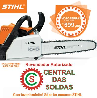 CENTRAL DAS SOLDAS SEU REVENDEDOR AUTORIZADO STIHL