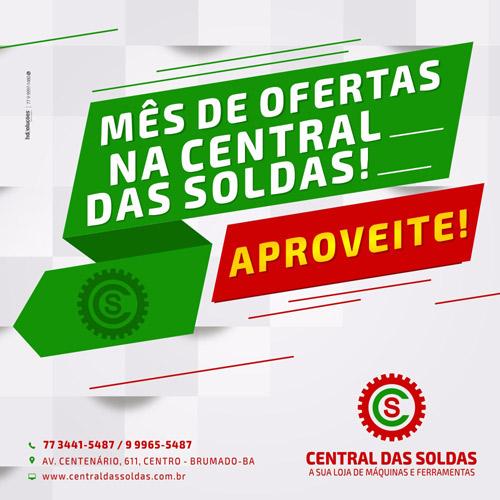 Brumado: Aproveite o mês de ofertas na Central das Soldas