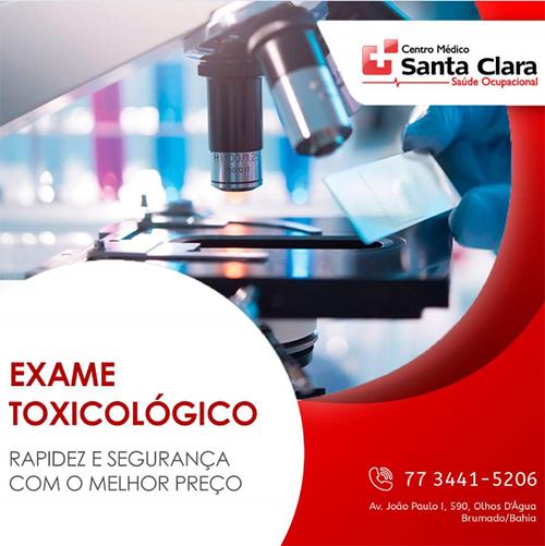 Centro Médico Santa Clara: O que é Exame Toxicológico ?