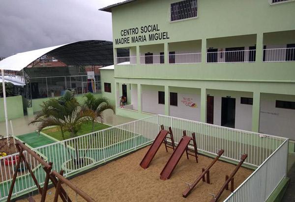 Centro Social Madre Maria Miguel tem novas instalações inauguradas em Aracatu