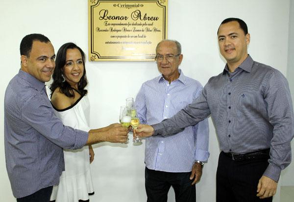 Foi inaugurado em Brumado o Cerimonial Leonor Abreu