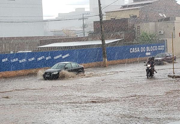 Previsão do tempo aponta chuva em Brumado até o início da próxima semana