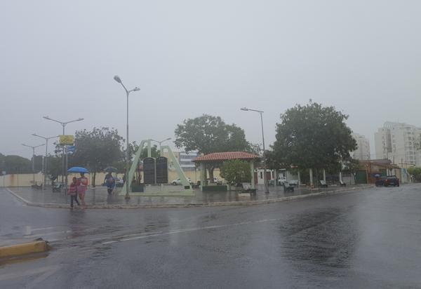Inmet alerta para chuva intensa em Brumado e cidades da região sudoeste