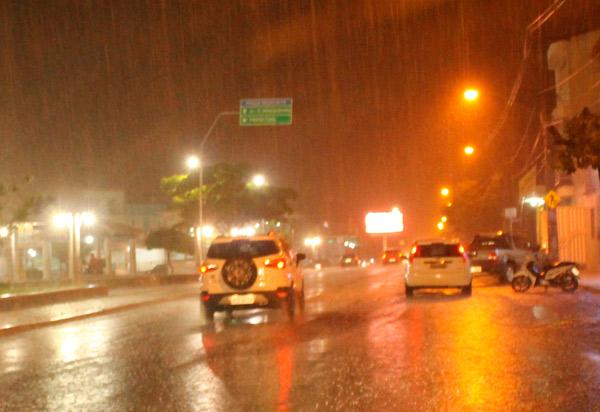 Choveu cerca de 45 mm em Brumado na madrugada desta segunda (18)