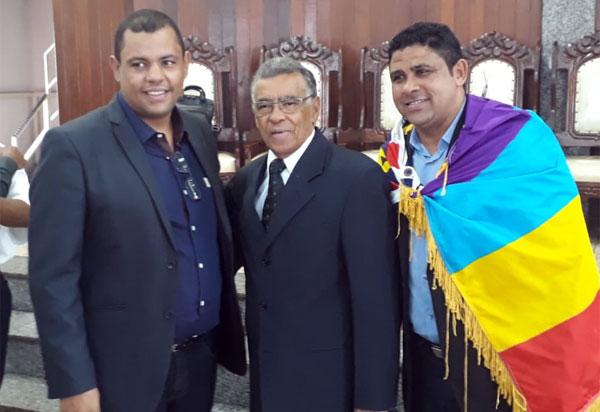 Ciano Filho recebe o apoio do Pastor Tom para pré-candidatura a deputado federal