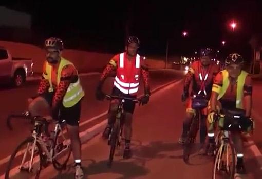 Ciclistas viajam de Governador Valadares ( MG)  para Brumado, um percurso de 660km