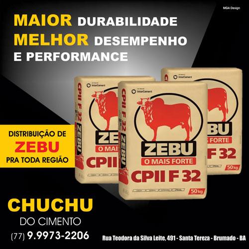 Cimento Zebu: distribuição para Brumado e região