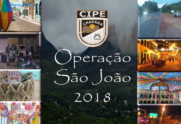 Cipe Chapada realiza a 'Operação São João 2018'