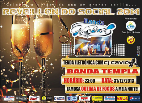 Brumado: Clube Social realiza o melhor Reveillon da região