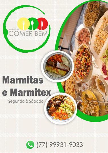 Alimente-se bem com Marmitas Comer Bem