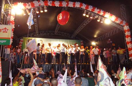 2012: MARIZETE A MARLÚCIO LANÇAM COMITÊ DE CAMPANHA