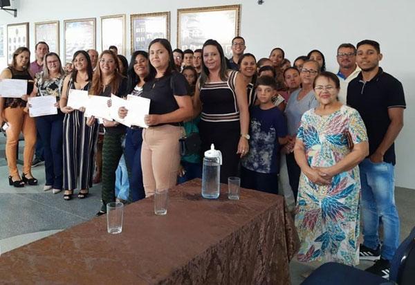 Aracatu: Conselheiros Tutelares, titulares e suplentes tomaram posse