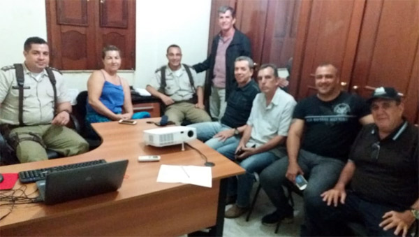 Comandante da 46ª CIPM realiza primeira reunião com o CONSEP de Livramento