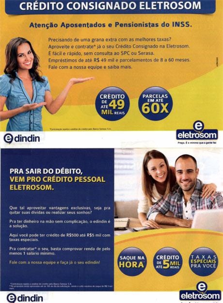 Brumado: Empréstimo pessoal e consignado é na Eletrosom