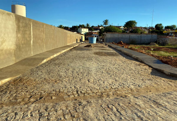 Empresa: Construmendes conclui obras em Bom Jesus da Serra