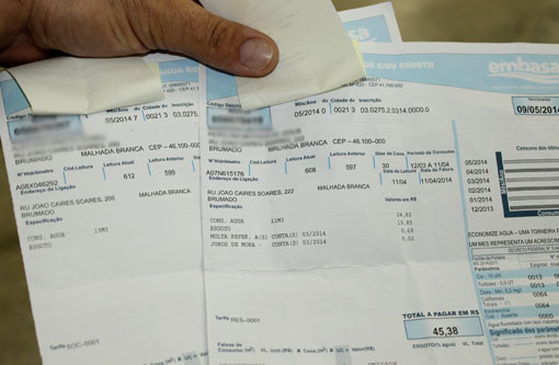 Bahia: Conta de água terá aumento de 7,8%