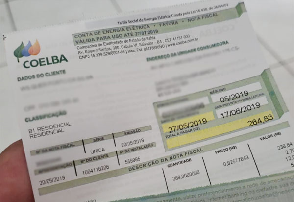 Mais de 1,6 milhão de famílias baianas não serão impactadas pelo novo valor da bandeira tarifária