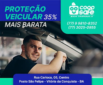 Proteja o seu veículo com a COOPSAFE - Proteção Veicular