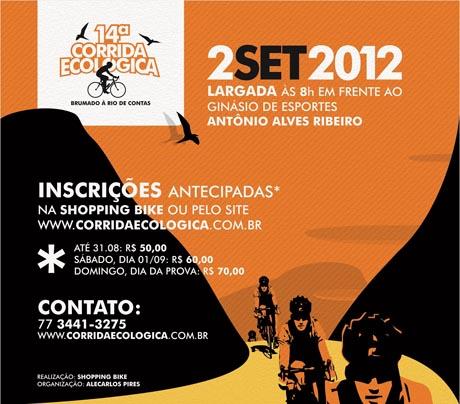 CORRIDA ECOLÓGICA BRUMADO À RIO DE CONTAS 2012