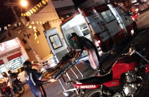 Brumado: Criança foi atropelada na Rua Cel. Tibério Meira