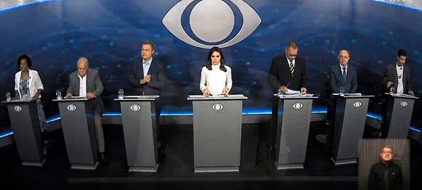 Eleições 2018: seis candidatos ao governo da Bahia participaram do primeiro debate na TV
