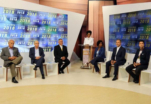 Eleições 2018: TVE realizou debate com candidatos ao governo da Bahia