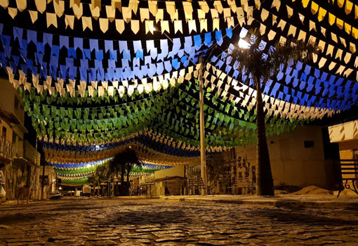 Em clima de Copa do Mundo, Aracatu se prepara para o 'Arraiá do Gererê'