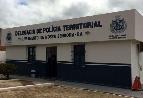 Polícia Civil cumpre mandado de prisão em Livramento