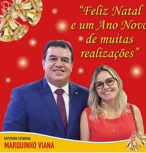 Mensagem de Natal do Deputado Estadual Marquinho Viana