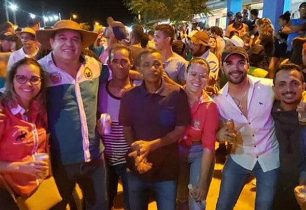 Barra da Estiva: Deputado Marquinho Viana participa da Cavalgada do Grupo Tôatoa
