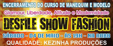 BRUMADO: NESTE SÁBADO (05) TEM DESFILE SHOW FASHION