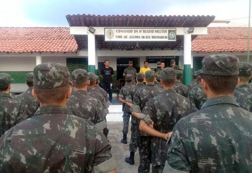 Brumado: Tiro de Guerra realizou cerimônia para lembrar o 'Dia Da Vitória'