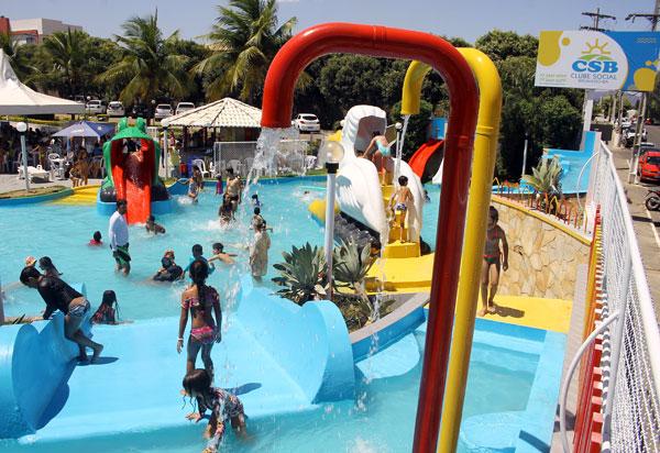 Clube Social de Brumado realizou festa do Dia das Crianças e inaugurou reforma do Parque Aquático