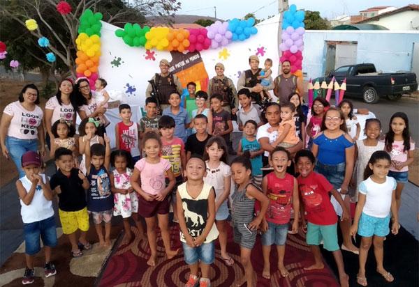 Brumado: festa em comemoração ao Dia das Crianças foi realizada na Rua Emiliano Pitanga
