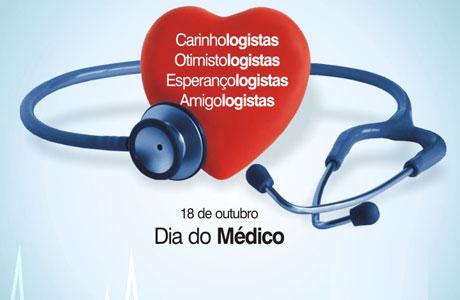 HOMENAGEM: 18 DE OUTUBRO DIA DO MÉDICO