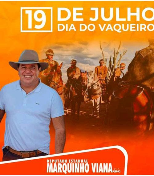 Marquinho Viana celebra o Dia do Vaqueiro Nordestino