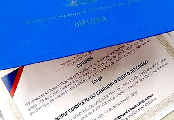 Eleições 2018: diplomação dos eleitos ocorrerá em 17 de dezembro