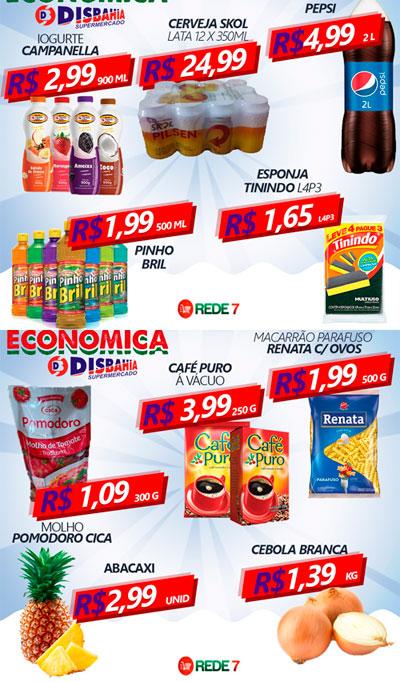 Confira as ofertas da Quarta Econômica do Disbahia Supermercado