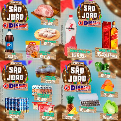 Ofertas de São João do Disbahia Supermercado