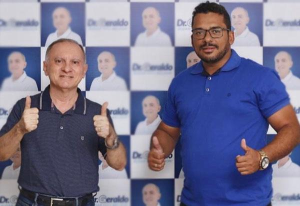 Política brumadense: Ednei Clebson caminhará com Dr Geraldo Azevedo