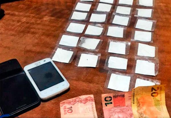 Acusados de tráfico de drogas, homens são detidos em Boquira