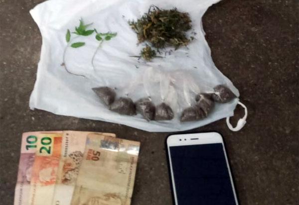 Homem é detido pela Caesg acusado de tráfico de drogas em Barra da Estiva