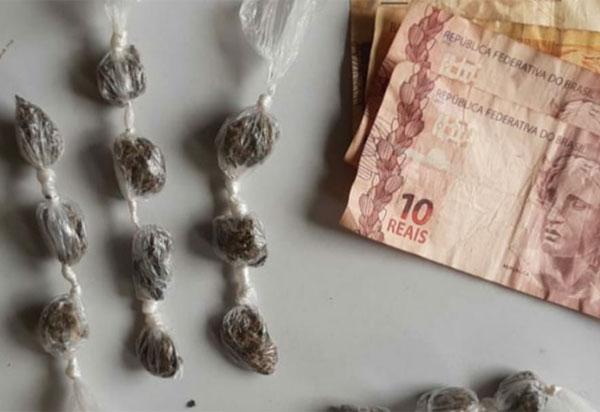Homem é detido acusado de tráfico de drogas em Cândido  Sales