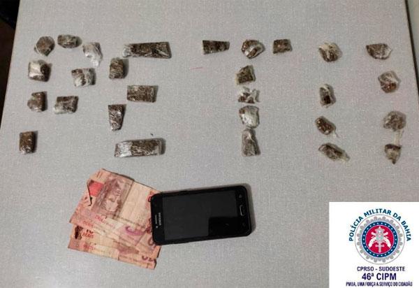 Livramento: Casal é detido acusado de trafico de drogas