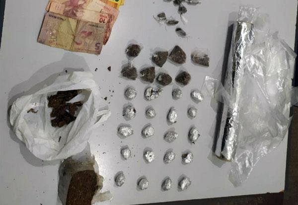 Caesg apreende grande quantidade de drogas no distrito de Sussuarana, em Tanhaçu