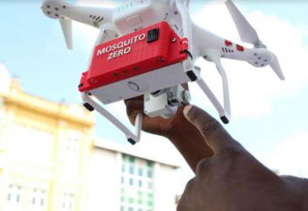 Presidente Jânio Quadros usará drone para localização de focos do Aedes aegypti em locais de difícil acesso