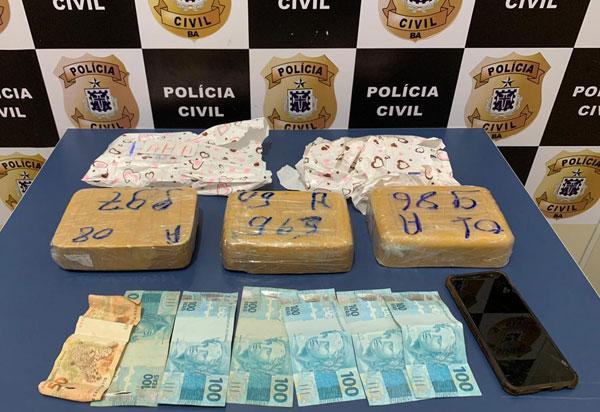 DTE de Conquista impede envio de cocaína via transportadora