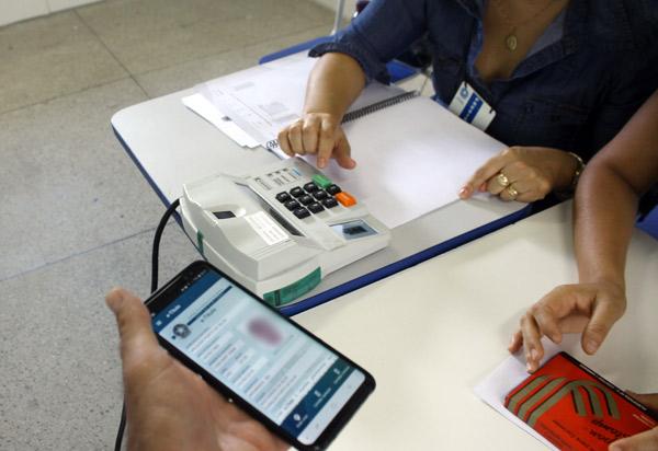 Muitos brumadenses utilizaram o e-titulo durante votação